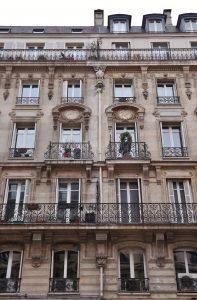 Facade 51 rue de Rome